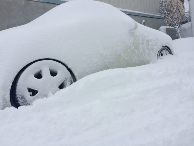 コペンvs冬