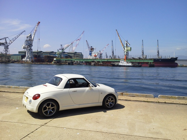 copen at dock